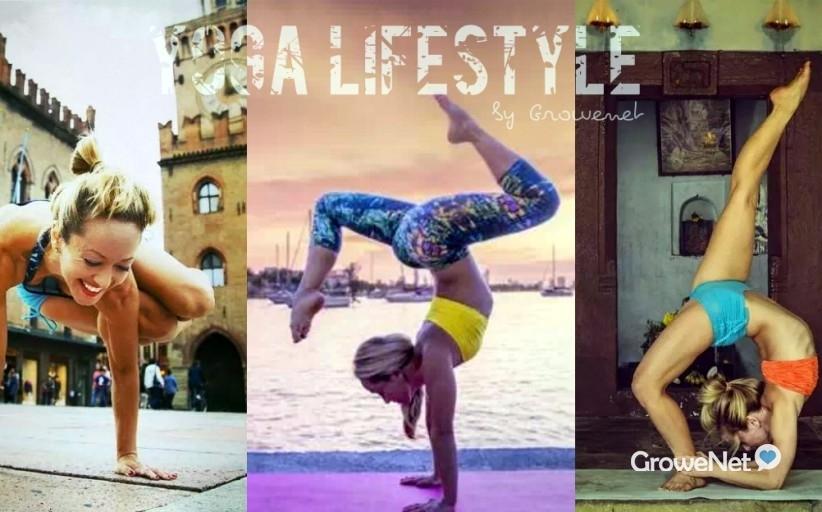 她37岁,粉丝60万,一边旅行,一边瑜伽......