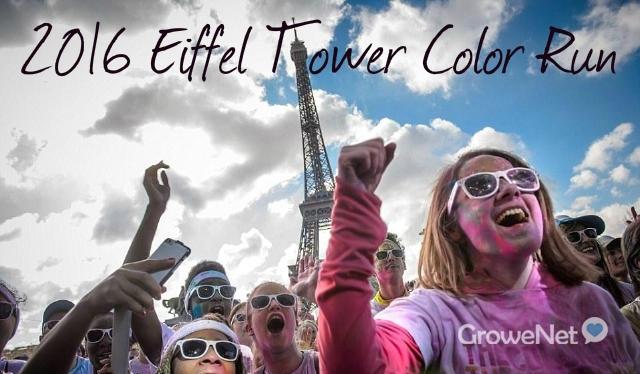 2016法国巴黎 [埃菲尔铁塔] color run开跑!!